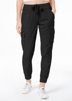 Calvin Klein Performance Cotton Tie-Front Cargo Pants