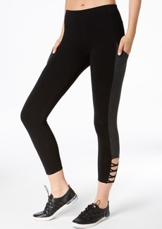 Calvin Klein Performance Crisscross Cropped Leggings
