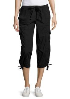 Calvin Klein Performance Cropped Active Cargo Pants