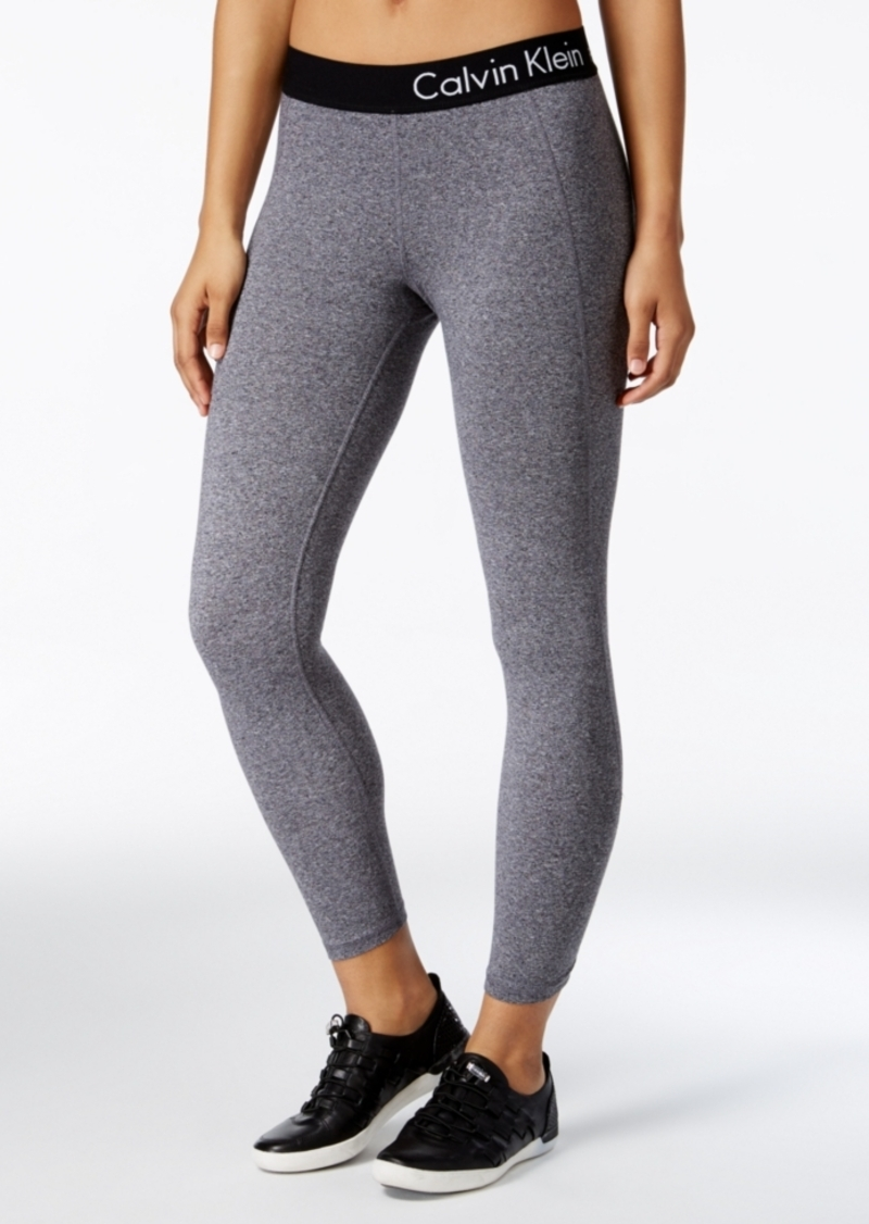 5052b921f0 Calvin Klein Calvin Klein Performance Cropped Logo Leggings | Casual ...