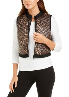 Calvin Klein Performance Cropped Quilted Vest