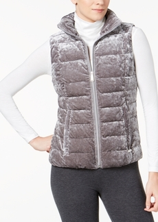 Calvin Klein Performance Crushed-Velvet Vest