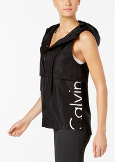 Calvin Klein Performance Cut-Off Logo Vest
