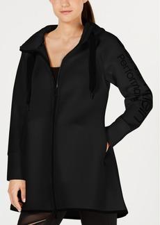 Calvin Klein Performance Dolman-Sleeve Hooded Walker Jacket