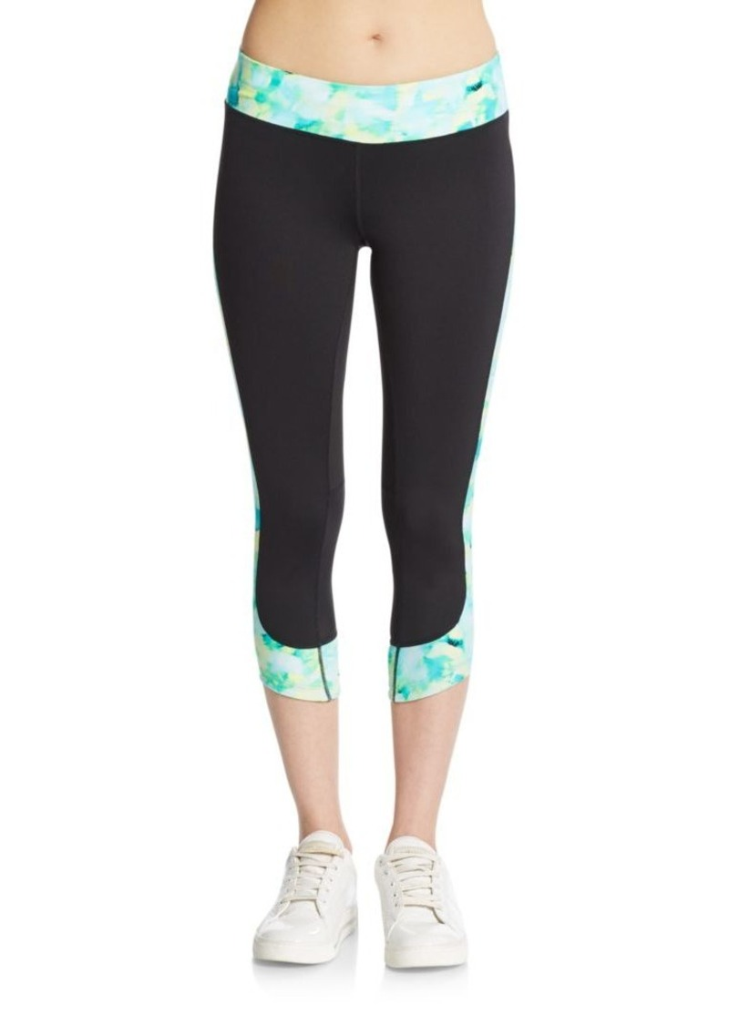 Calvin Klein Performance Dolphin Cropped Leggings