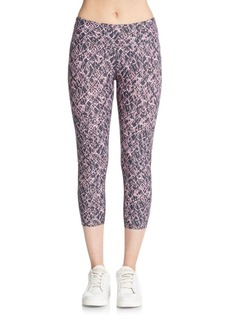 Calvin Klein Performance Dynamism Printed Capri Leggings