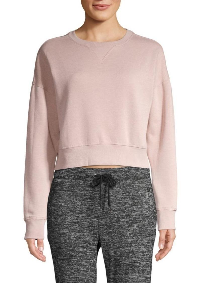 Calvin Klein Performance Fleece Cropped Sweatshirt