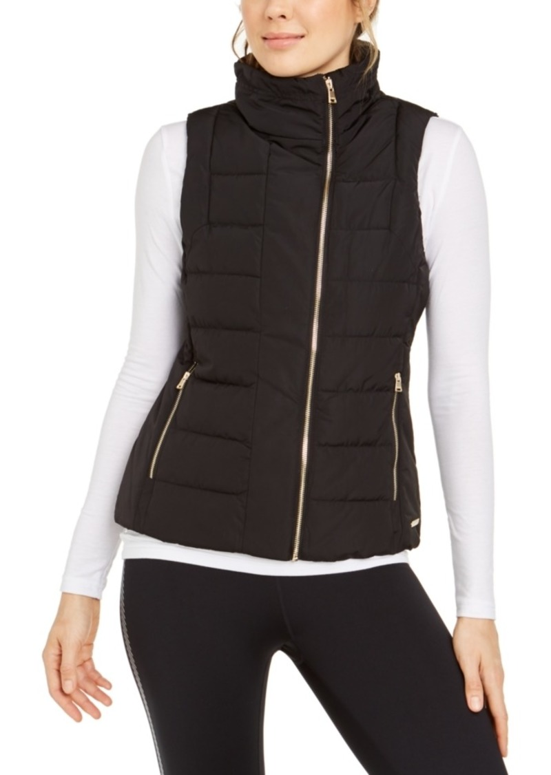 Calvin Klein Performance Fleece-Lined Quilted Vest