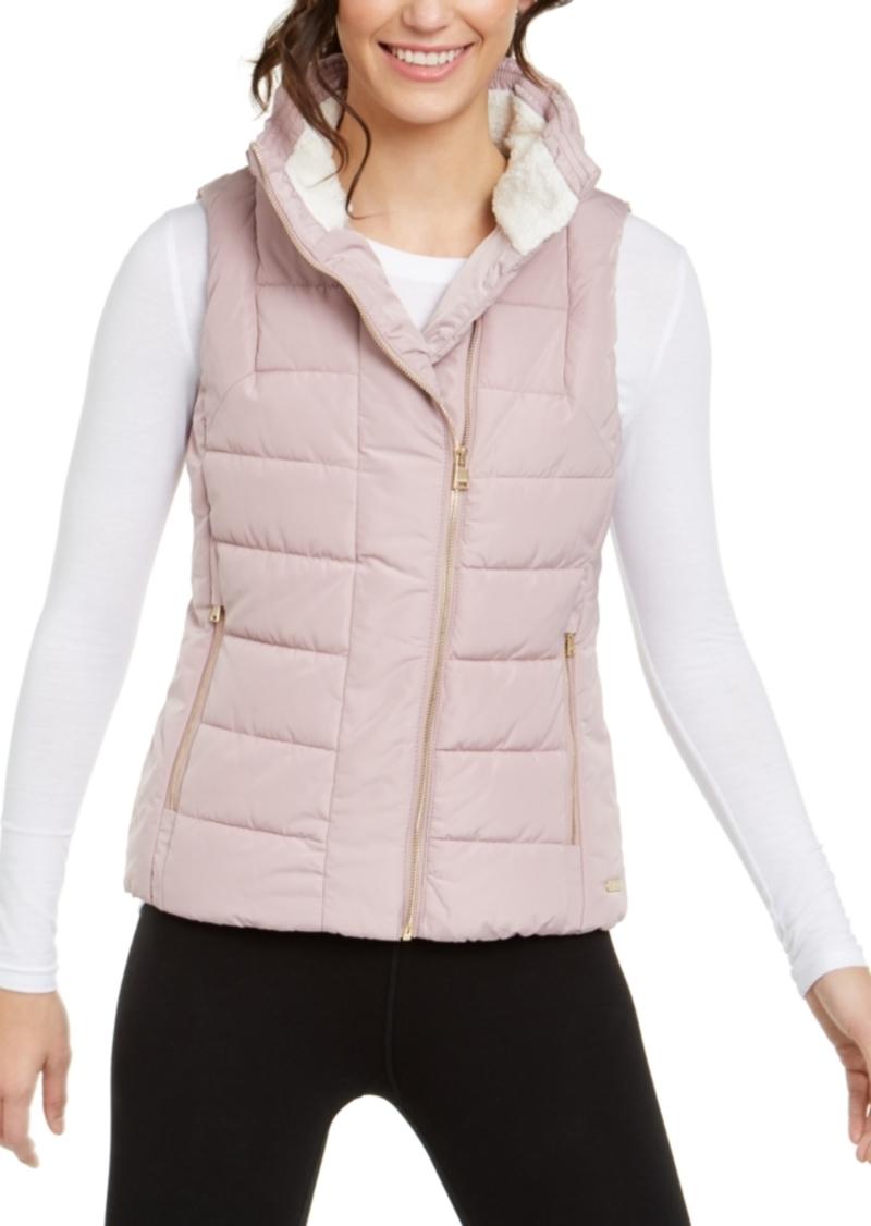 Calvin Klein Performance Fleece-Lined Quilted Vest