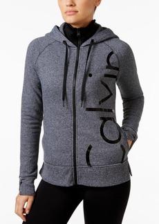 Calvin Klein Performance Fleece Logo Hoodie
