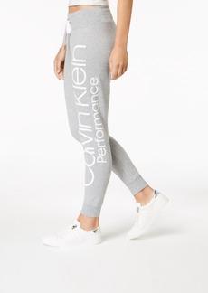 Calvin Klein Performance Fleece Logo Joggers