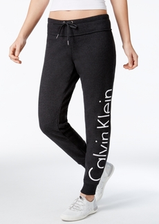 Calvin Klein Performance Fleece Logo Pants