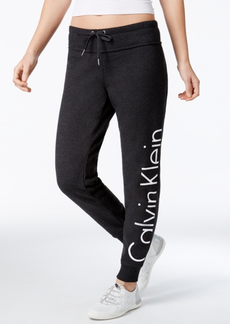 Calvin Klein Calvin Klein Performance Fleece Logo Pants