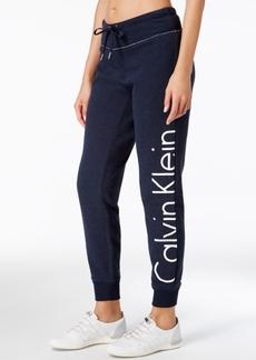Calvin Klein Performance Fleece Logo Pants