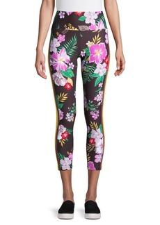 Calvin Klein Performance Floral Cropped Leggings