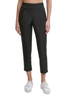 Calvin Klein Performance Front Pleated Tapered Pants