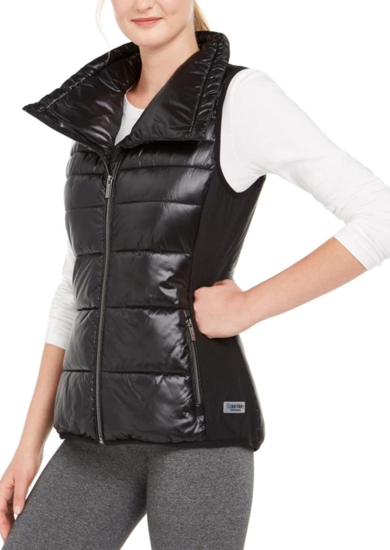 Calvin Klein Performance Funnel-Neck Vest