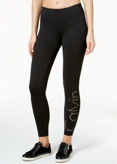 Calvin Klein Performance Gradient-Dot Logo Leggings