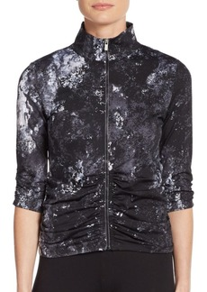 Calvin Klein Performance Graphite-Print Performance Top