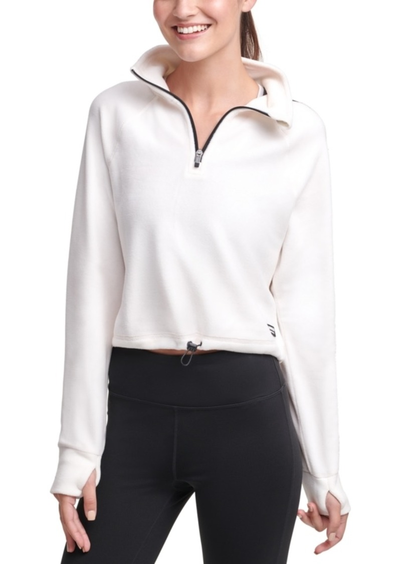 Calvin Klein Performance Half-Zip Logo Top