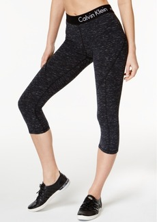 Calvin Klein Performance Heathered Capri Leggings