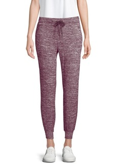 Calvin Klein Performance Heathered Drawstring Joggers