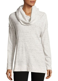 Calvin Klein Performance Heathered Drop Shoulder Pullover