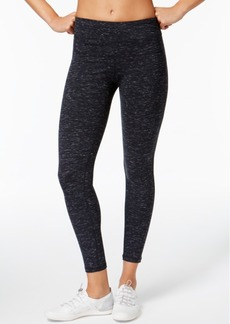 Calvin Klein Performance Heathered High-Rise Cropped Leggings