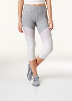 Calvin Klein Performance High-Rise Colorblocked Cropped Leggings