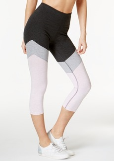 Calvin Klein Performance High-Rise Capri Colorblocked Leggings