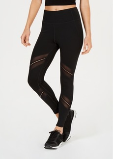 Calvin Klein Performance High-Waist Sheer-Inset Leggings
