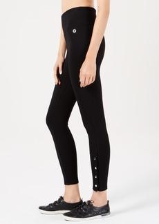 Calvin Klein Performance High-Waist Side-Snap Leggings