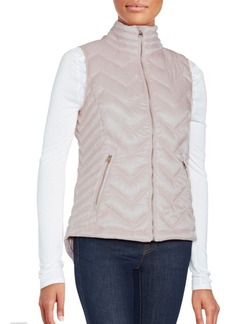 Calvin Klein Performance Highneck Quilted Down Vest