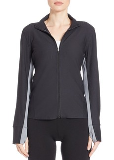 Calvin Klein Performance Honeycomb Zip Jacket