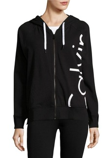 CALVIN KLEIN PERFORMANCE Hooded Long Sleeve Jacket