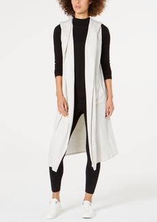 Calvin Klein Performance Hooded Long Vest