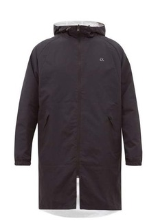 Calvin Klein Performance Hooded reversible technical jacket