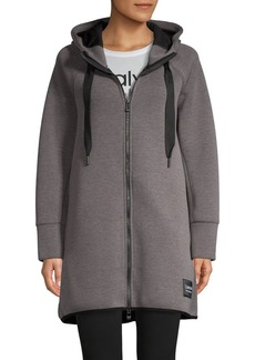 Calvin Klein Performance Hooded Scuba Jacket