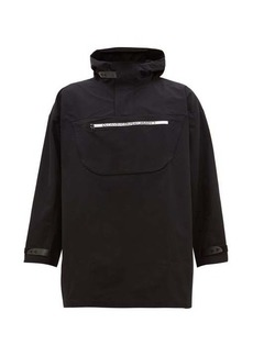Calvin Klein Performance Hooded technical windbreaker jacket