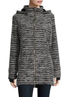 CALVIN KLEIN PERFORMANCE Hooded Zip-Front Jacket