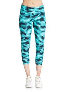 Calvin Klein Performance Jete Printed Capri Leggings