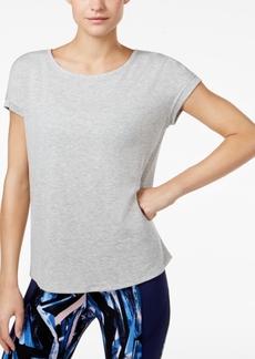Calvin Klein Performance Keyhole-Back T-Shirt