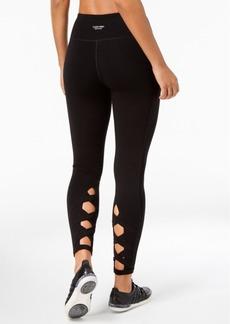 Calvin Klein Performance Lattice-Detail High-Waist Leggings