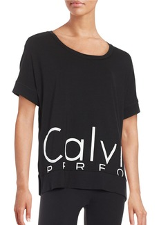 CALVIN KLEIN PERFORMANCE Logo Athletic Top