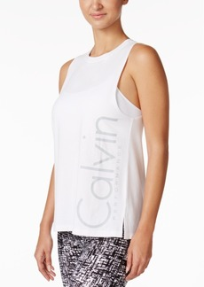 Calvin Klein Performance Logo Boyfriend Tank Top