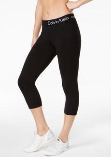 Calvin Klein Performance Logo Cropped Leggings