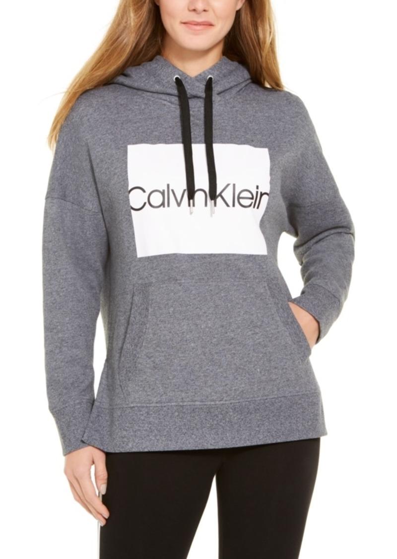 Calvin Klein Performance Logo Fleece-Lined Sweatshirt