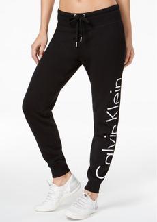 Calvin Klein Performance Logo Joggers