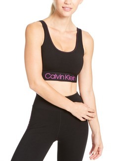 Calvin Klein Performance Logo Medium-Impact Sports Bra
