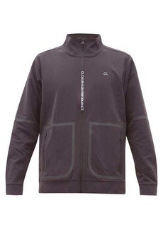 Calvin Klein Performance Logo-print stretch-twill track jacket